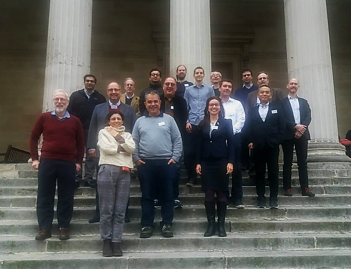 Quantemol and the rest of the Business Accelerator programme cohort.