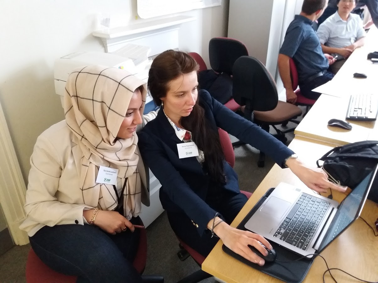Quantemol receiving support from an adviser as part of the programme.