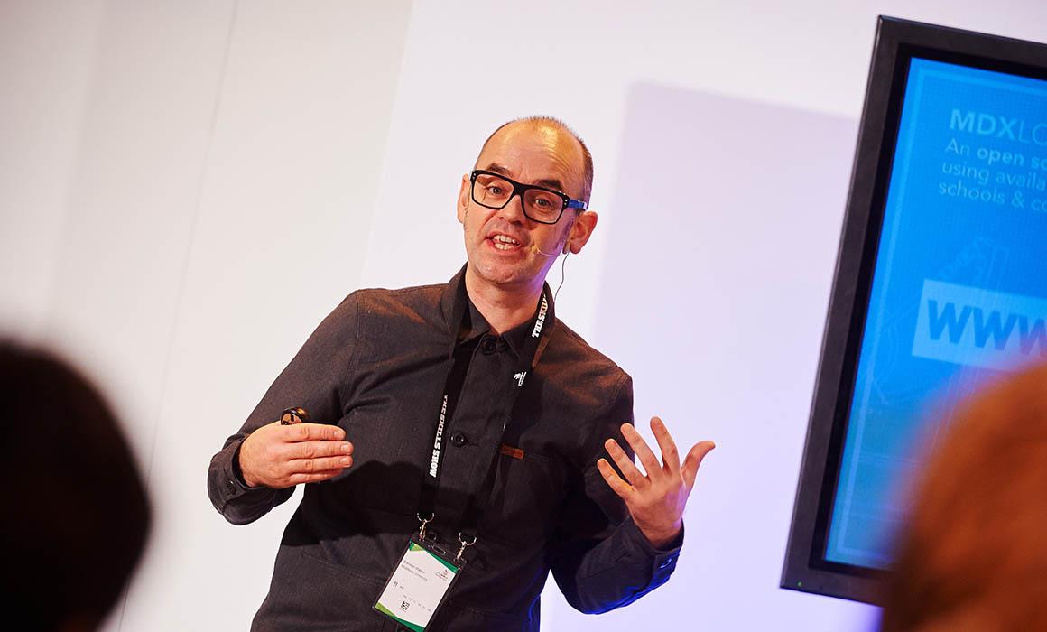 Brendan Walker (Founder Director, Studio Go Go) speaking at The Skills Show 2015.