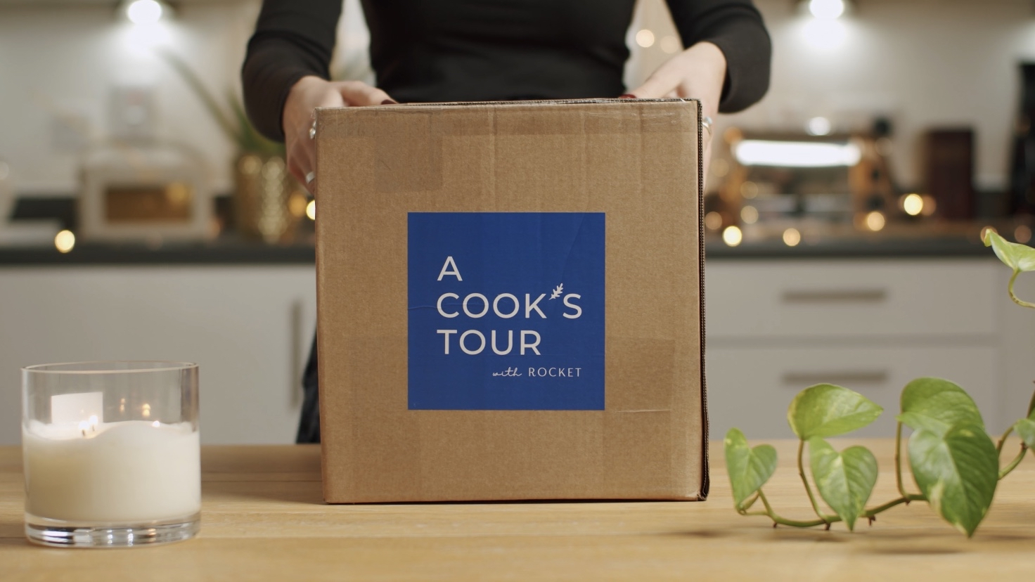 Delivery of ingredients from Rocket Food's home delivery business, A Cook's Tour.