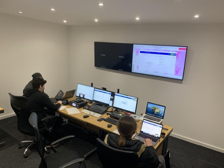 Completed Hire Frequencies studio funded by ERDF grant.