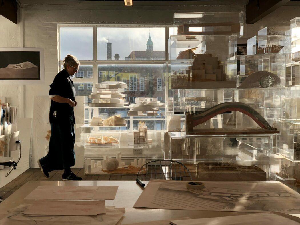 Gianni Botsford Architects' studio space.