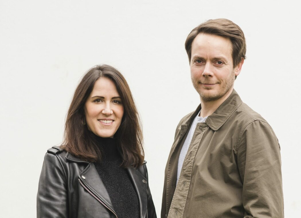 Entrepreneurs Nicolas and Julia Vendramin, founders of new fashion company and website, labelld.com